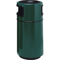 Witt Receptacle 25 Gallon Trash CanFiberglass in Green, Size 38.0 H x 18.0 W x 18.0 D in   Wayfair 7C-1838T2APD-29 found on Bargain Bro Philippines from Wayfair for $796.97