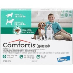 Comfortis Green For Dogs 9 - 18kg (20 - 40lbs) 6 Doses found on Bargain Bro Philippines from Canadapetcare.com for $79.89