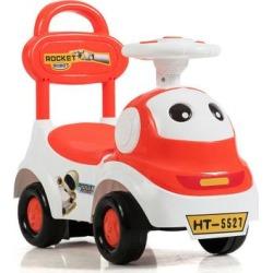 Costway 3-in-1 Baby Walker Sliding Pushing Car w/ Sound-Orange