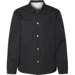 Water Resistant Windbreaker Coaches Jacket (Black - XS), Men's(nylon) found on Bargain Bro India from Overstock for $47.59