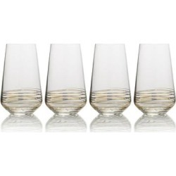 Mikasa Electric Boulevard 4-pc. Highball Glass Set, Multicolor found on Bargain Bro Philippines from Kohl's for $49.99