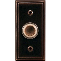 Charlton Home® Wired Push Button in Brown, Size 3.0 H x 1.0 W x 1.5 D in | Wayfair 7640D0B5E7524F52A6A228DACBA76A82 found on Bargain Bro Philippines from Wayfair for $19.99