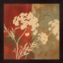 Lanie Loreth 'Among the Flowers I' Framed Art found on Bargain Bro Philippines from Overstock for $39.94