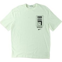 Puma Mens T-Shirt Running Fitness (Puma White - L), Men's(cotton) found on Bargain Bro from Overstock for USD $9.95