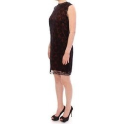Dolce & Gabbana Orange floral lace shift Women's dress (it42-m) found on Bargain Bro India from Overstock for $439.00