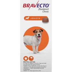 Bravecto For Small Dogs 9.9-22lbs (Orange) 3 Chews found on Bargain Bro Philippines from Canadapetcare.com for $99.72