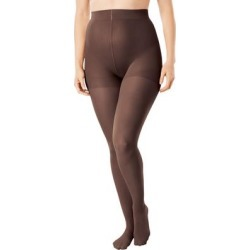 Plus Size Women's 2-Pack Smoothing Tights by Comfort Choice in Dark Coffee (Size A/B) found on Bargain Bro Philippines from Ellos for $14.99