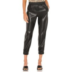 Pete Vegan Leather Pant - Black - Alice + Olivia Pants found on MODAPINS from lyst.com for USD $207.00