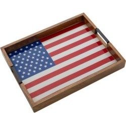 Mikasa Rectangle Flag Lazy Susan Serving Tray, Multicolor found on Bargain Bro Philippines from Kohl's for $71.99