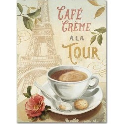 Trademark Fine Art Cafe in Europe II Canvas Wall Art, Yellow, 35X47 found on Bargain Bro Philippines from Kohl's for $200.99