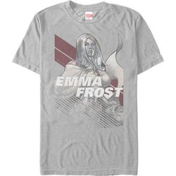 Fifth Sun Men's Tee Shirts SILVER - X-Men Silver Emma Frost Tee - Men found on Bargain Bro Philippines from zulily.com for $15.99