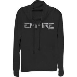 Fifth Sun Women's Sweatshirts and Hoodies BLACK - Star Wars: Jedi Fallen Order Black 'Empire' Cowl Neck Sweater - Women & Plus found on Bargain Bro India from zulily.com for $19.48