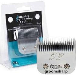 Master Grooming Tools GroomSharp Steel Pet Grooming Blade, Size 5F