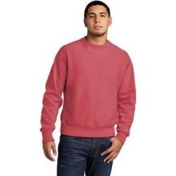 Champion Men's Reverse Weave Fleece Crewneck Sweatshirt (L - Crimson), Red found on Bargain Bro Philippines from Overstock for $52.49