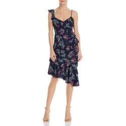 Likely Womens Casual Dress Floral Asymmetrical - Navy Multi found on MODAPINS from Overstock for USD $88.04