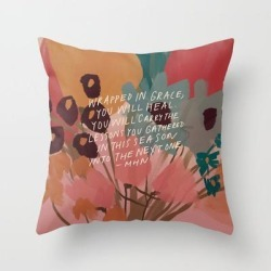 Couch Throw Pillow | Wrapped In. Grace by Morgan Harper Nichols - Cover (16