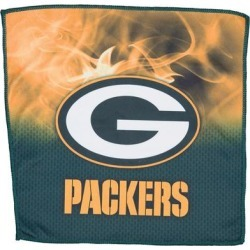 Green Bay Packers 16'' x On Fire Bowling Towel found on Bargain Bro India from Fanatics for $24.95