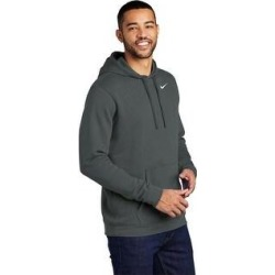 Nike Men's Club Fleece Hoodie (3XL - Charcoal), Black found on Bargain Bro from Overstock for USD $50.53