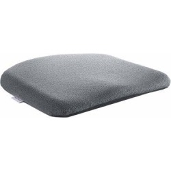 Sacro-Ease Memory Foam Molded Seat Cushion in Gray, Size 1.75 H x 17.0 W x 15.0 D in   Wayfair ERGO CONTOUR CUSH SMOKE found on Bargain Bro Philippines from Wayfair for $145.10