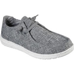 Skechers Men's Sneakers GRY - Gray Relaxed Fit Melson Chad Sneaker - Men found on Bargain Bro Philippines from zulily.com for $54.99
