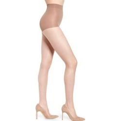Exceptionally Sheer 2-pack Control Top Pantyhose, Beige - Natural - Natori Hosiery found on Bargain Bro Philippines from lyst.com for $54.00