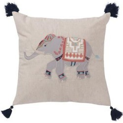 Levtex Saida Elephant Pillow, Grey, Fits All found on Bargain Bro India from Kohl's for $33.99