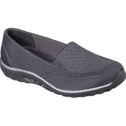 Skechers Women's Sneakers CCL - Charcoal Relaxed-Fit Reggae Fest Willows Slipon Sneaker - Women found on Bargain Bro India from zulily.com for $54.99
