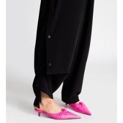 Leather Mules - Black - Balenciaga Heels found on Bargain Bro Philippines from lyst.com for $705.00