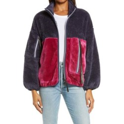 UGG Marlene Faux Fur Jacket - Red - Ugg Jackets found on Bargain Bro from lyst.com for USD $97.28