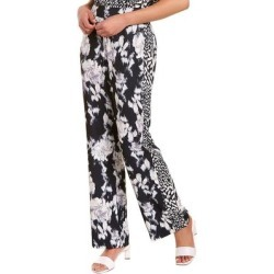 Natori Tie-Dye Floral Pant (L), Women's, Black(polyester) found on Bargain Bro Philippines from Overstock for $54.99