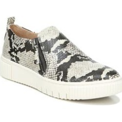 Women's Turner Sneaker by Naturalizer in Ivory Python (Size 8 1/2 M) found on Bargain Bro from fullbeauty for USD $45.59
