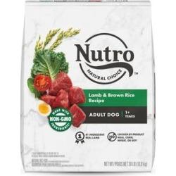 Nutro Natural Choice Adult Lamb & Brown Rice Recipe Dry Dog Food, 30-lb bag