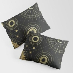 Infinity King Size Pillow Sham by Cafelab - STANDARD SET OF 2 - Cotton