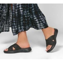Skechers Women's On-the-GO 600 - Glistening Sandals, Black/Black, 10.0 found on Bargain Bro Philippines from SKECHERS.com for $47.00