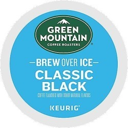 24 Ct Green Mountain Coffee Brew Over Ice Classic Black Coffee K-Cup® Pods. Coffee found on Bargain Bro from Keurig.com for USD $11.39