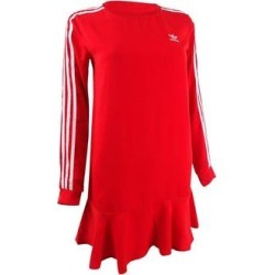 Adidas Originals Women's Flounce T-Shirt Dress (XS, Red) found on Bargain Bro from Overstock for USD $41.03