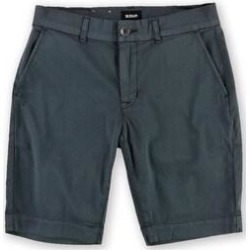 Hudson Mens Chinob Casual Walking Shorts (30), Men's, Gray(cotton, solid) found on MODAPINS from Overstock for USD $78.20