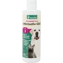 NaturVet ArthriSoothe GOLD Hip & Joint Stage 3 Advanced Dog & Cat Liquid Supplement, 8-oz bottle