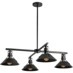 Hubbardton Forge Henry 8 Inch Tall 4 Light Outdoor Hanging Lantern - 364210-1001 found on Bargain Bro Philippines from Capitol Lighting for $2420.00