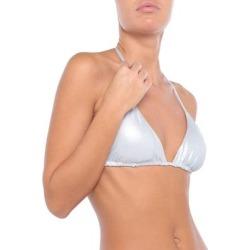 Bikini Top - Metallic - Fisico Beachwear found on Bargain Bro from lyst.com for USD $89.68