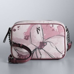 Simply Vera Vera Wang Pieced Camera Bag, Light Pink found on Bargain Bro from Kohl's for USD $22.15