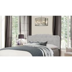 Nicole Headboard (Frame Not Included) Glacier Gray.
