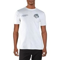 Puma Mens Counted Out T-Shirt Fitness Workout - Puma White (L), Men's(cotton) found on Bargain Bro India from Overstock for $16.39