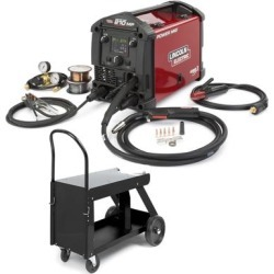 Lincoln Power MIG 210 MP Multi Process Welder & Deluxe Cart found on Bargain Bro Philippines from weldingsuppliesfromioc.com for $2085.00
