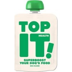 Top It! Health All-in-1 Digestion, Joint Health, Skin & Coat and Breath Freshener Super Booster Dog Supplement, 3.2-oz pouch