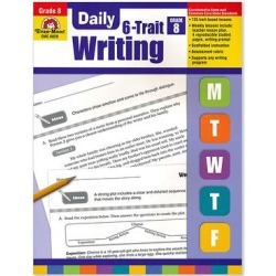 Evan-Moor Educational Publishers Educational Workbooks - Grade 8 Daily Six-Trait Writing Workbook found on Bargain Bro from zulily.com for USD $15.19