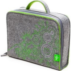 Tegu Toy Block Sets Grey - Gray Travel Tote found on Bargain Bro from zulily.com for USD $12.91