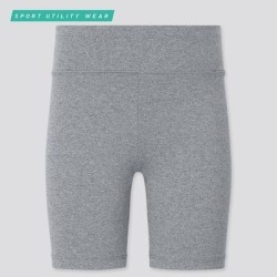 UNIQLO Girl's Airism Soft Biker Shorts, Gray, 3-4Y found on Bargain Bro India from Uniqlo for $9.90
