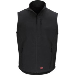 Soft Shell Vest (Charcoal - 3XL), Men's, Black(fleece) found on Bargain Bro Philippines from Overstock for $115.82