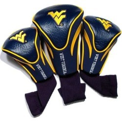 Team Golf West Virginia Mountaineers 3-pc. Contour Head Cover Set, Multicolor found on Bargain Bro from Kohl's for USD $27.36